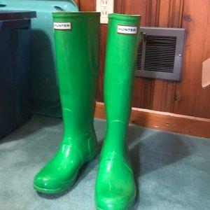 Kelly Green Hunter Boots